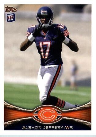 Rookie amp; Collectibles Mint Football Topps Fine Card Art Jeffery 18 com Alshon 2012 Amazon