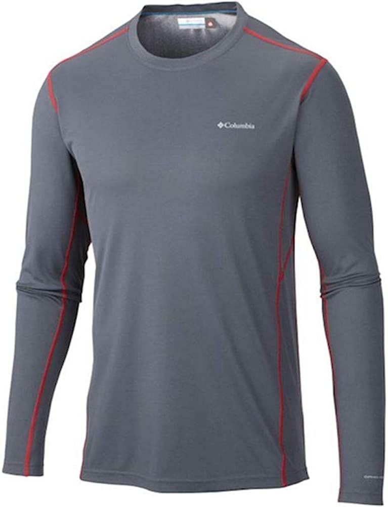 Columbia Omni-Heat Mens Midweight Stretch Baselayer Long Sleeve Shirt