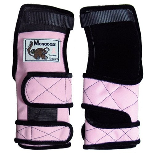 Mongoose Lifter Pink Wrist Support- Right Hand (Medium) by MONGOOSE PRODUCTS INC