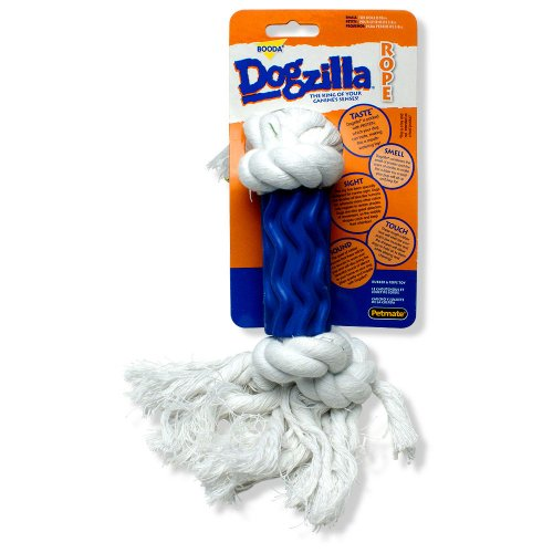 Petmate Dogzilla Rope Dog Toy Swirl, Small, My Pet Supplies