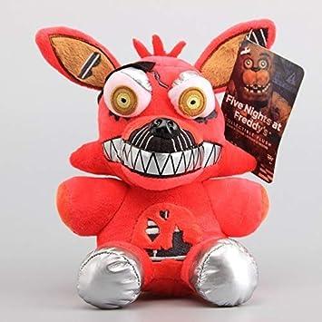 Five Nights at Freddy Plush Toy Stuffed Animal Soft Figure Kids Doll Mangle 8 inch