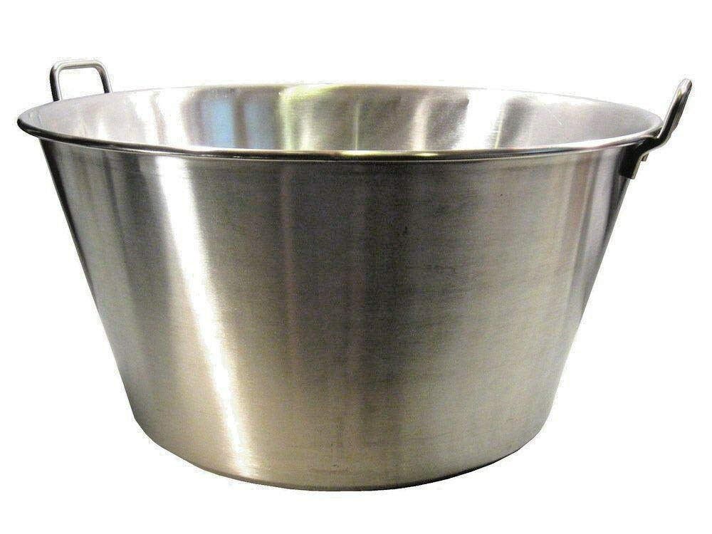 MY HOPE Carnitas Cazo Stainless Steel Gas Stove bunrer Cook Caso Pot pan Portable 16''