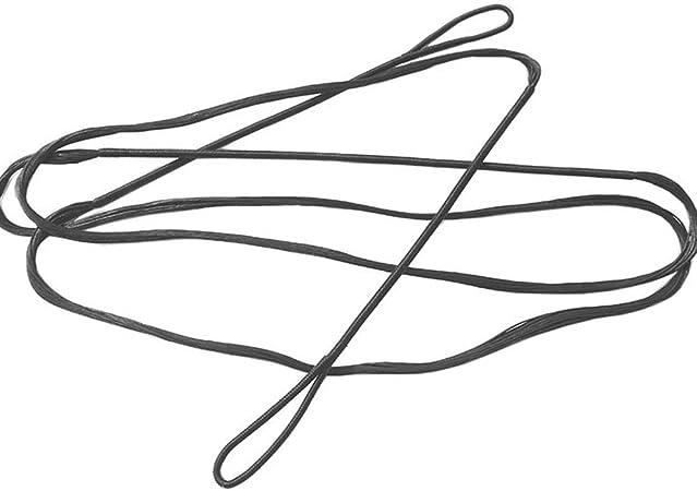 "Bow String-Gold//Brown//Green 52/""AMO recurve-Actual length 48/"" Bowstring endless."