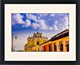 Framed Print of Street view in Antigua, Guatemala, Central America