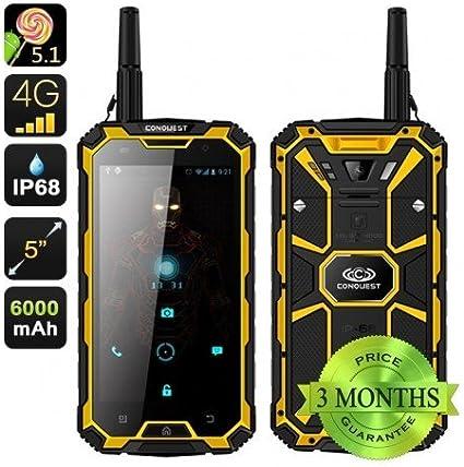 Conquista S8 Pro Resistente Smartphone: Amazon.es: Electrónica