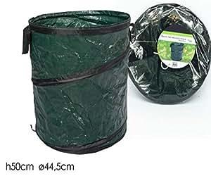 Saco desplegable para recoger hojas cm 44.5x 50h plegable portátil girdino