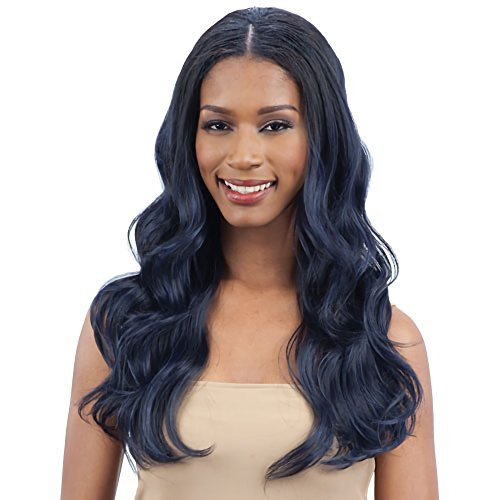 OVAL PART BODY WAVE (1 Jet Black) - FreeTress Synthetic Wig