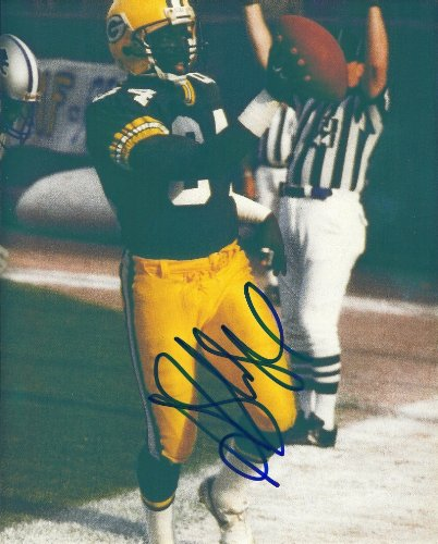 - Sterling Sharpe, Green Bay Packers, Signed, Autographed, 8x10, Photo ,Coa with Proof