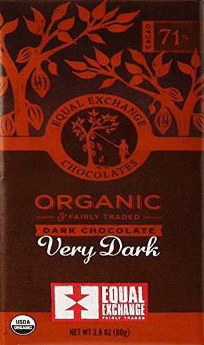71 Vitamins (Equal Exchange Organic Very Dark Chocolate (71 % Cacao), 2.8 oz)