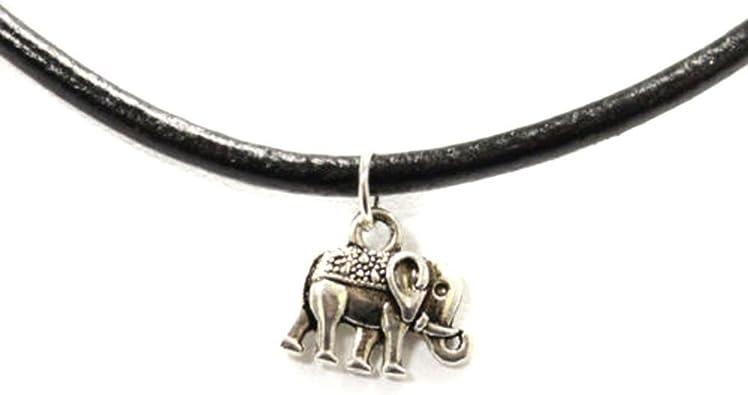collier ras de cou pendentif elephant