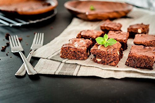 Non Stick Brownie Pans with Dividers, Diveded Brownie Pan All Edges, 8 inch by 12 inch by SUJUDE (Image #3)
