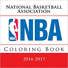 NBA Coloring Book: All 30 National Basketball Association logos to ...