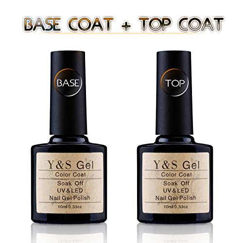 Yaoshun Gel Base and Top Coat,UV LED Top Coat and Base Coat