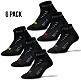 Thirty48 Low Cut Cycling Socks Unisex; Running, Spin Class, Hiking, Gym Training