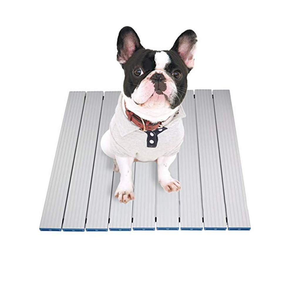 Lzndeal Pet Sleeping Pad,Heat Dissipation Cuishion,Pet,Dog,Pet Sleeping Pad Cooling Foldable Sleep Heat Dissipation Cuishion for Summer