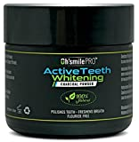 Activated Charcoal Natural Teeth Whitening Powder, Removes Stains and Discoloration from Your Teeth, Better Than Charcoal Toothpaste, Strips, Kits, Gels - Organic, Safe for Enamel and Vegan Friendly