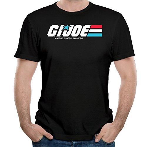 Joe American Hero T-shirt - Unique G.I. Joe A Real American Hero Tshirts For Man