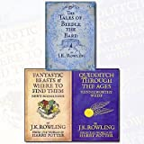 J. K. Rowling Collection 3 Books Bundle (The Tales of Beedle the Bard, Standard Edition[Hardcover],Fantastic Beasts and Where to Find Them,Quidditch Through the Ages)