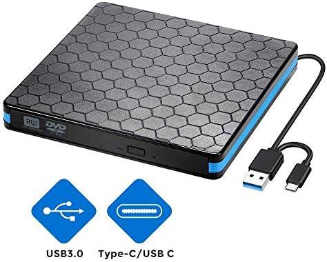 Unidad de CD Externa para DVD con USB 3.0 e Interfaz Tipo C ...
