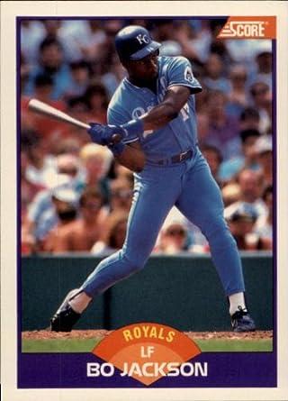 1989 Score Baseball Card 330 Bo Jackson Mint