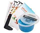 TheraPutty Antimicrobial Exercise Putty Blue 1 LB + Puttycise L-Bar TheraPutty Exercise Tool + Manual Bundle