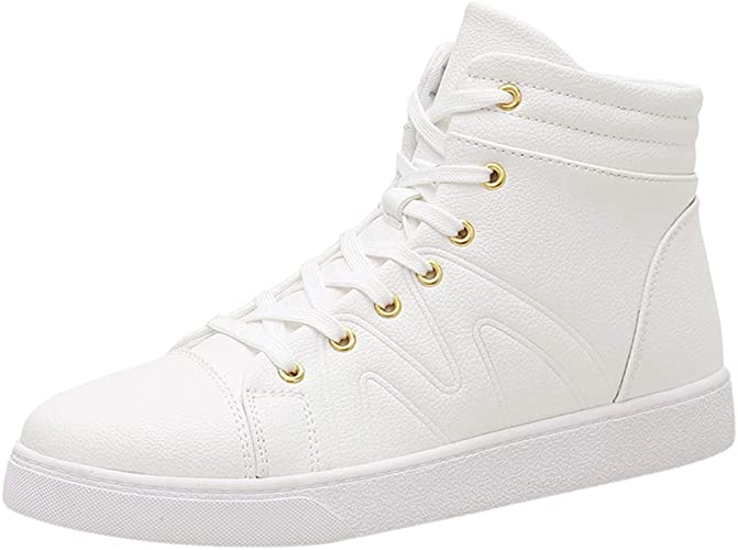 iZZB High Help Men's Trainers Sports