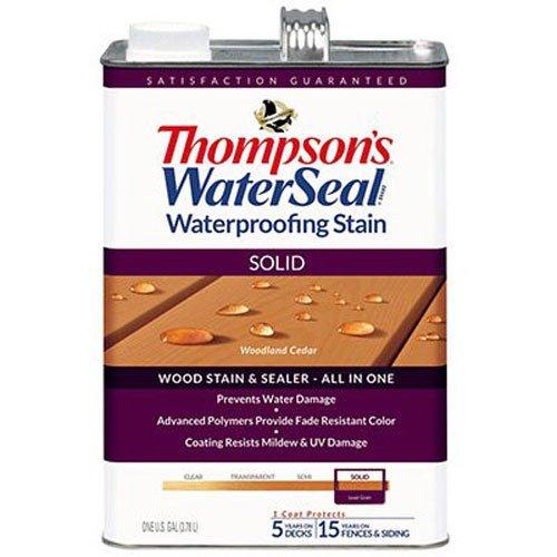 Thompsons waterseal 043851–16galones, Woodland, sellador de madera maciza de, de cedro y a las manchas