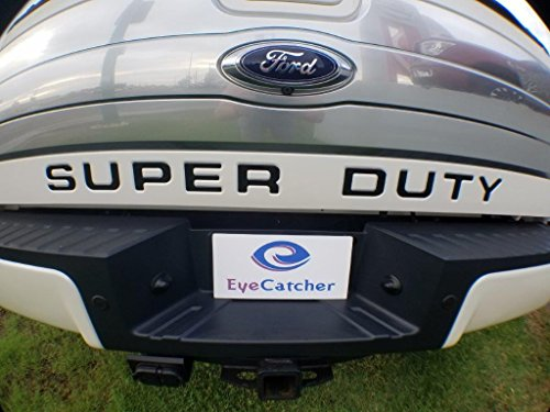 (EyeCatcher Tailgate Insert Letters for 2008-2016 Ford Super Duty (Gloss)