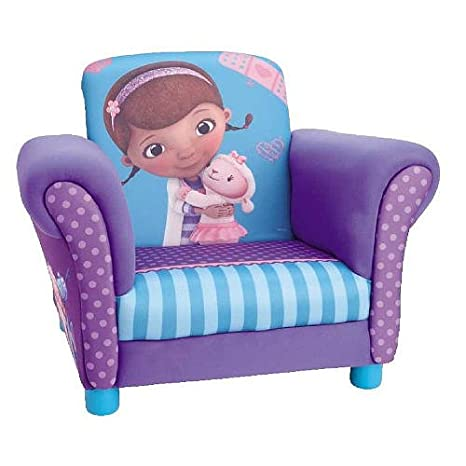 Amazon.com: Doc McStuffins tapizado silla: Kitchen & Dining