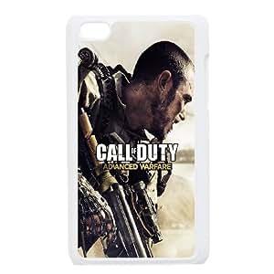 iPod Touch 4 Case White Call Of Duty Advanced Warfare Qhtua