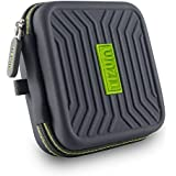 Tizum Tmepg Earphone Carrying Case (Grey)