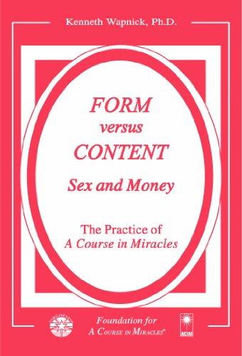 Money Form - Form versus Content: Sex and Money