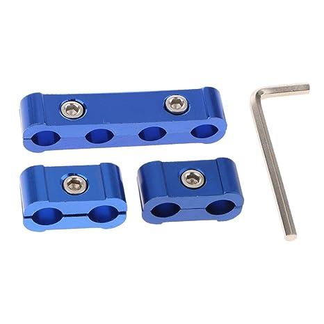 non-brand Sharplace 3 Unids Motor Bujías Separador de Ignición Separador de Cable Abrazaderas 8