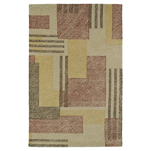 Kaleen Rugs Montage Collection MTG04-43 Camel Hand Tufted 9' x 12' Rug