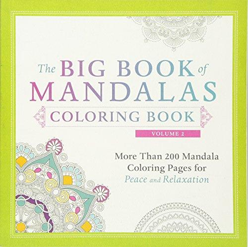 The Big Book of Mandalas Coloring Book,