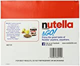 Nutella Ferrero Go Hazelnut Spread and Breadsticks, 12 packs- 22 Ounce