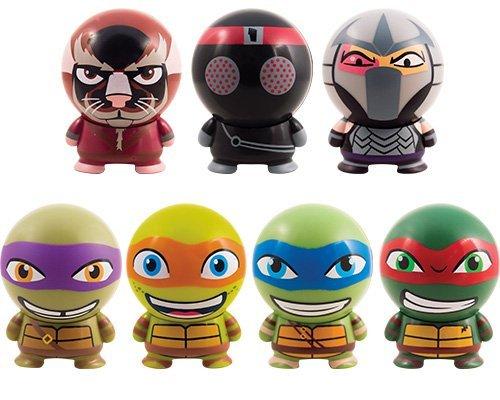 Teenage Mutant Ninja Turtles Buildable mini figurines. Set of 7 -