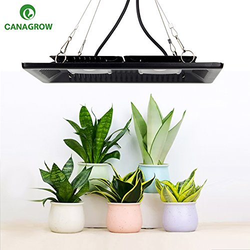 CANAGROW LED Plant Grow Light, 200W Waterproof Full Spectrum LED Grow Lights for Indoor Plants, New Technology Cob Led Grow Light, Natural Heat Dissipation Without Noise