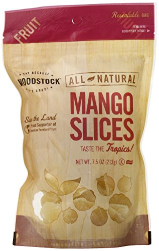 Woodstock All-Natural Mango Slices, Low Sugar, 7.5 Ounce by Woodstock (Image #5)
