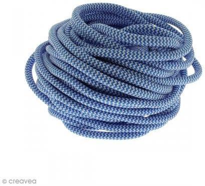 Cordón de escalada para joyas – azul y blanco – 5 mm – Precio ...