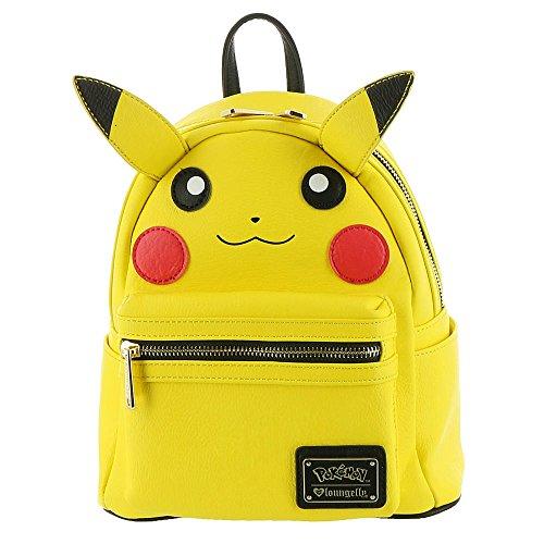 Loungefly Pikachu Mini Backpack Yellow (Best Electric Type Pokemon X)