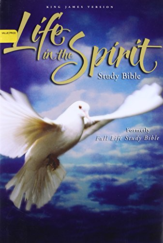 KJV, Life in the Spirit Study Bible, Hardcover, Red Letter Edition: Formerly Full Life Study