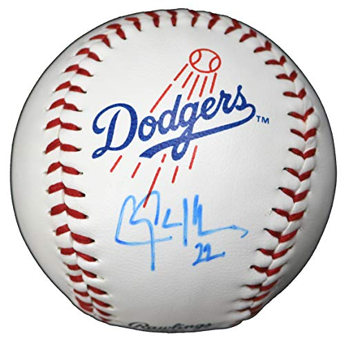 Clayton Kershaw Los Angeles Dodgers Signed Autographed Rawlings Official Major League Logo Baseball COA ()