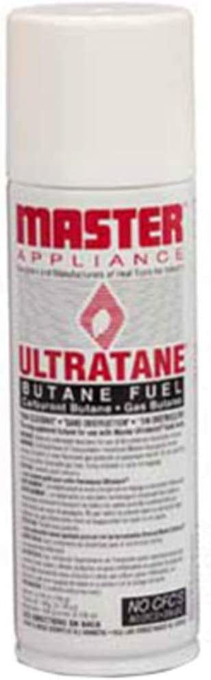 Butane Fuel; 5-1/8 oz (145g); Ultratane Butane Fuel Cylinder; Refill Canister , Pack of 5