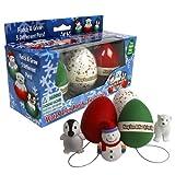Christmas Ornament Super Grow Eggs - Hang 'Em and Hatch 'Em...