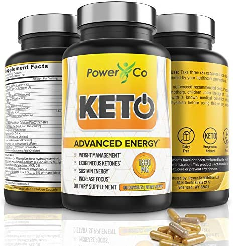 Keto Diet Pills Energy Electrolytes product image