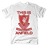 Official Liverpool FC This is Anfield White T-Shirt (2xl)