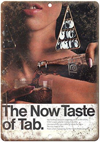 Tab Coca Cola Vintage Soda Ad Soft Drink 12
