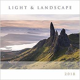 light and landscape 2018 calendar square amazoncouk books