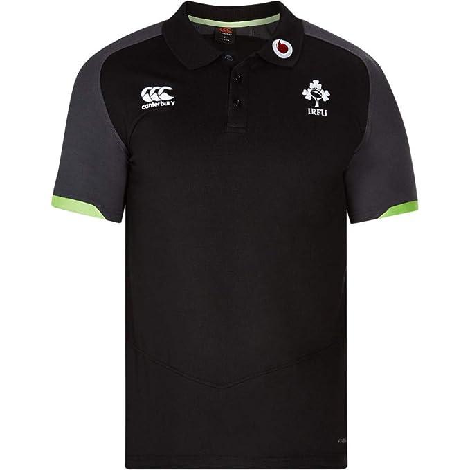 Official IRFU Ireland Rugby Cotton Stripe Polo, Hombre: Amazon.es ...